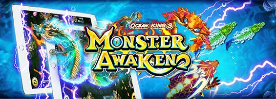 monster awaken fish hunt